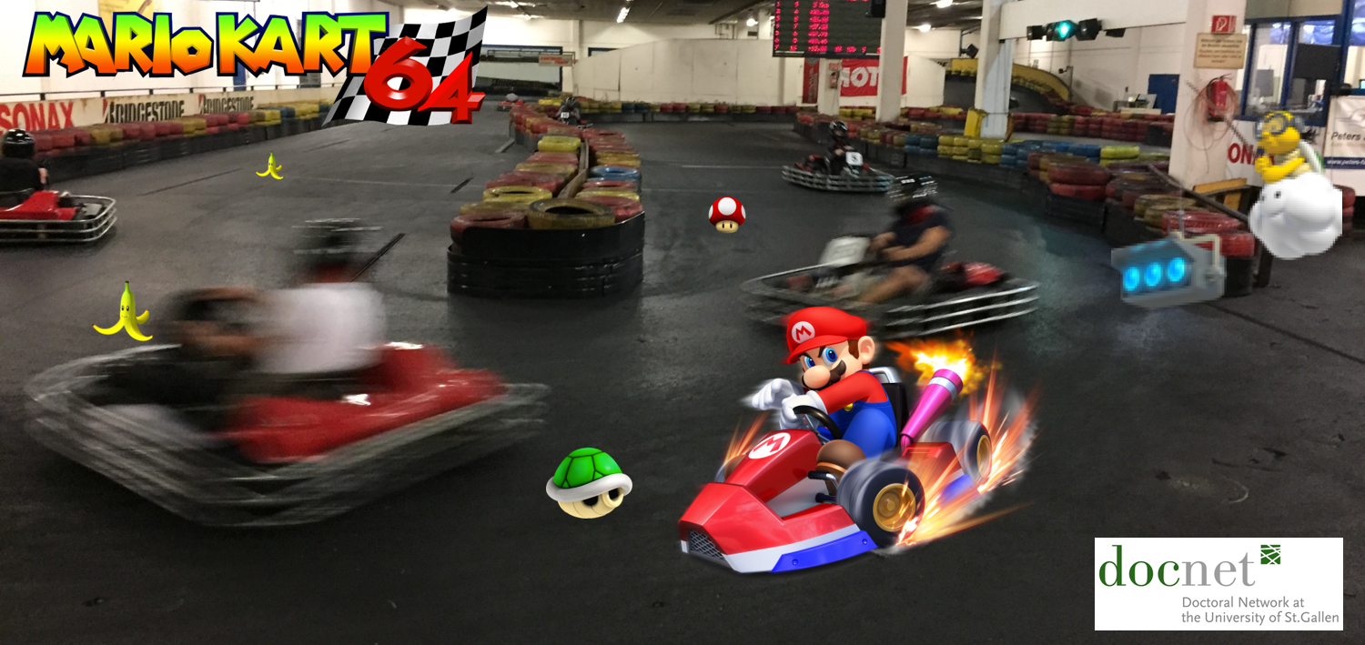 Welcome to Mario Kart! Select your player!
