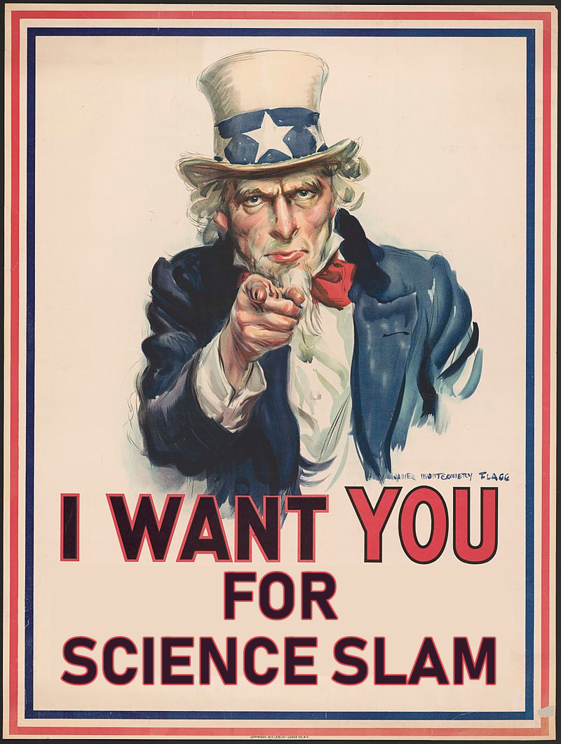 Science Slam We want you!