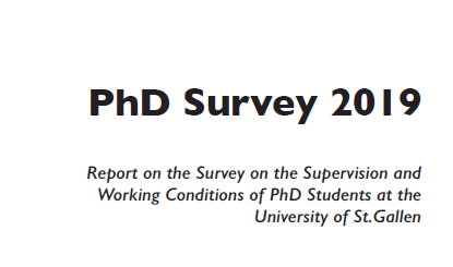PhD Survey Cover
